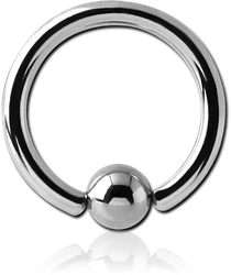 SURGICAL STEEL GRADE 316L BALL CLOSURE RING