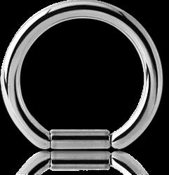 SURGICAL STEEL GRADE 316L BAR CLOSURE RING