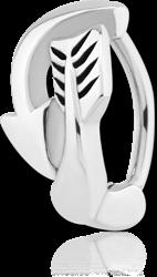 STERILE SURGICAL STEEL GRADE 316L BELLY CLICKER - ARROW