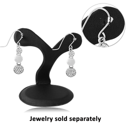 EARRING STAND WITH 2 CLIPS DISPLAY