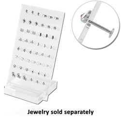DISPLAY - POLYMER 2PC STAND FOR 48PCS 1.2MM JEWELRY