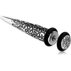 SURGICAL STEEL GRADE 316L FAKE EXPENDER - FILIGREE