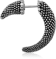 SURGICAL STEEL GRADE 316L FAKE CLAW - DOTS