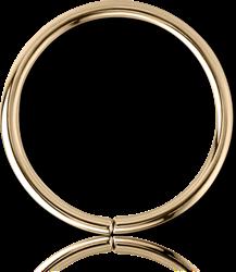 18 KARAT GOLD YELLOW CONTINUOUS RING
