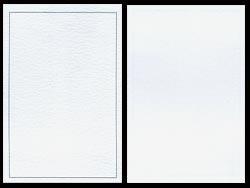PLAIN WHITE CARDBOARD FOR P02