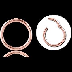 14 KARAT ROSE GOLD HINGED SEGMENT RING