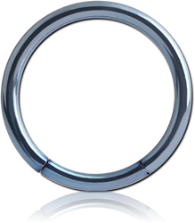 ANODISED SURGICAL STEEL GRADE 316L SMOOTH SEGMENT RING