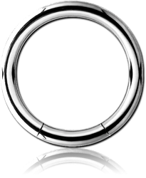 SURGICAL STEEL GRADE 316L SMOOTH SEGMENT RING