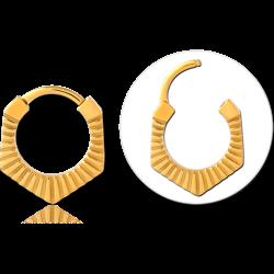GOLD PVD COATED SURGICAL STEEL GRADE 316L MULTI PURPOSE CLICKER