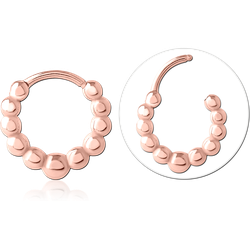 ROSE GOLD PVD COATED SURGICAL STEEL GRADE 316L MULTI PURPOSE CLICKER