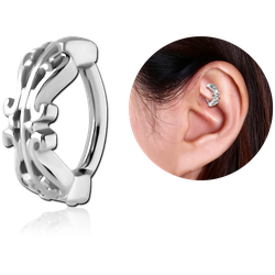 SURGICAL STEEL GRADE 316L ROOK CLICKER - FILIGREE